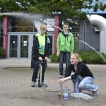 Jugendkunstschultag Physik-Experiment
